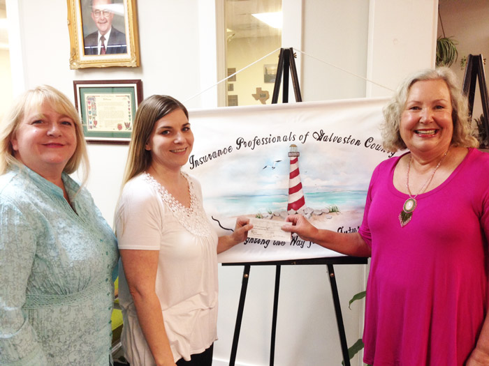 Donation from Insurance Professionals of Galveston County